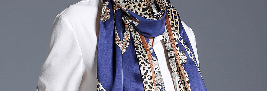 foulard en soie de haute qualite en ligne
